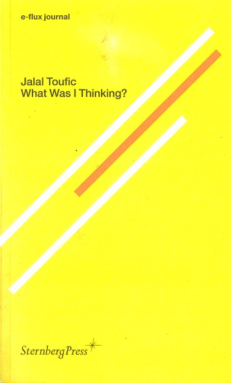 E-Flux Journal: What Was I Thinking?