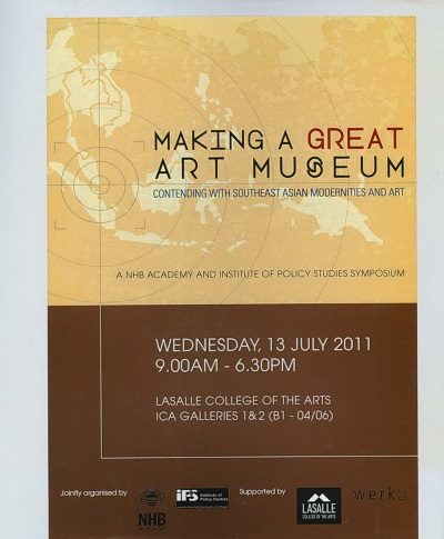 Making a Great Art Museum: Contending with Southeast Asian Modernities and Ar - Cover