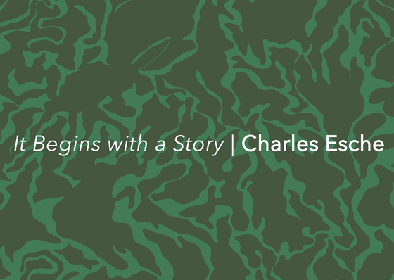 It Begins with a Story Charles Esche