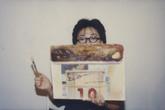 Image: Ha Bik Chuen, Contact Sheet No.181 'Demonstration by Cindy Lau', 3 October 1998 (detail).