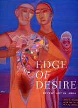 Edge of Desire: Recent Art in India, Book Cover, 2005