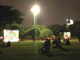 Installation view, 4th Bangkok Experimental Film Festival,
