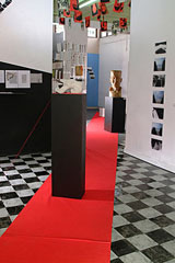 Installation view of RAP's SPACE[S] exhibition of 2003.