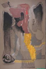 Samir aaich. Untitled, Oil on canvas