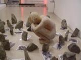 N.N. Rimzon. Speaking Stones, 1998. 'Edge of Desire' exhibition.