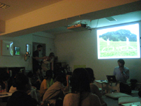 Presentations by the artists in residence at ARCUS studio at AIT in October.