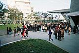 Mori Art Museum opening - street preformance