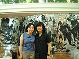 Joan Kee and Kim Hong-hee