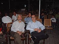 Gu Wenda and Li Xianting