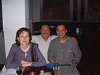 Christine Clark, Ronny Tjandra and Chaitanya Sambrani