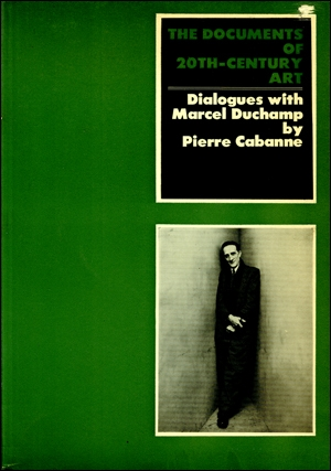 Image: Cover of <i>Dialogues with Marcel Duchamp</i> by Pierre Cabanne.