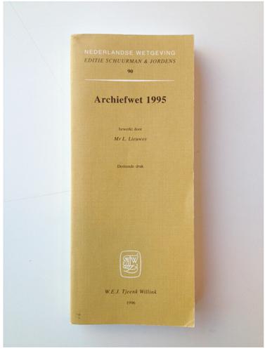Archiefwet 1995.