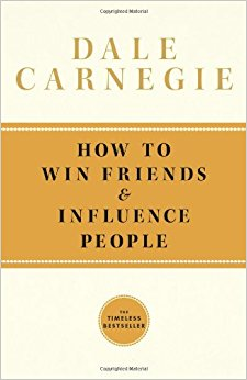 Image: Cover of <i>How to Win Friends and Influence People</i> by Dale Carnegie.