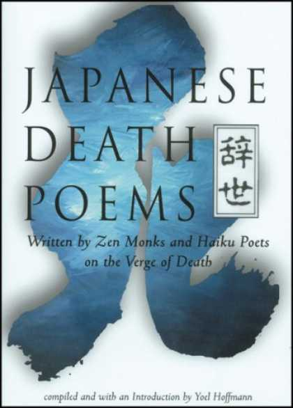 Image: Cover of <i>Japanese Death Poems</i> edited by Yoel Hoffmann.