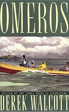 Image: Cover of <i>Omeros</i> by Derek Walcott.
