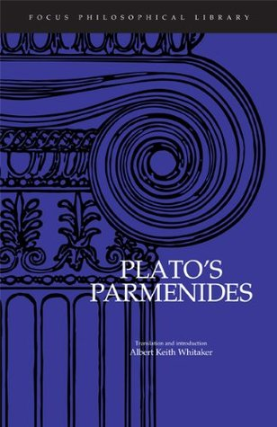 Image: Cover of <i>Parmenides</i> by Plato.