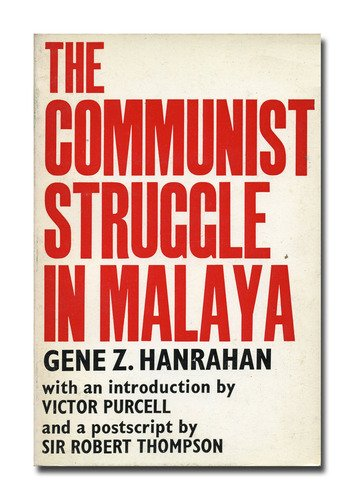 Image: Cover of <i>The Communist Struggle</i> in Malaya by Gene Z. Hanrahan.