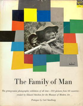 Image: Cover of <i>The Family of Man</i> by Edward Steichen