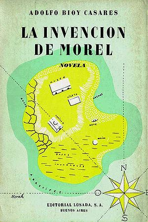 Image: Cover of <i>The Invention of Morel</i> by Adolfo Bioy Casares.
