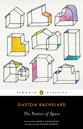 Image: Cover of <i>The Poetics of Space</i> by Gaston Bachelard.