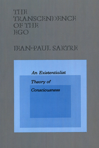 Image: Cover of <i>The Transcendence of the Ego</i> by Jean-Paul Sartre.