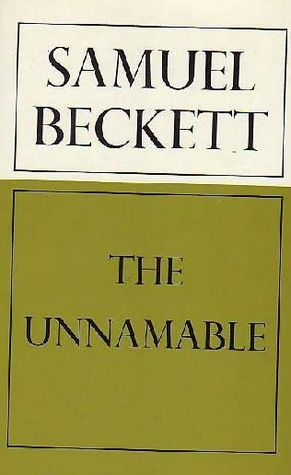 Image: Cover of <i>The Unnamable</i> by Samuel Beckett.