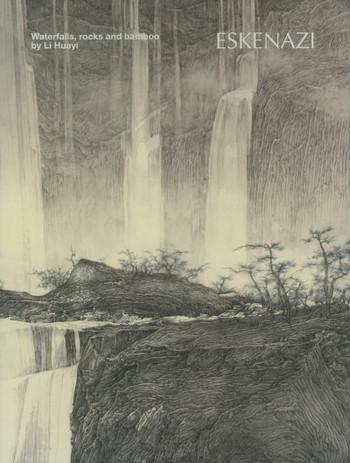 Waterfalls, Rocks and Bamboo by Li Huayi - Cover