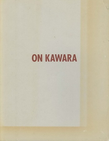 On Kawara - Cover