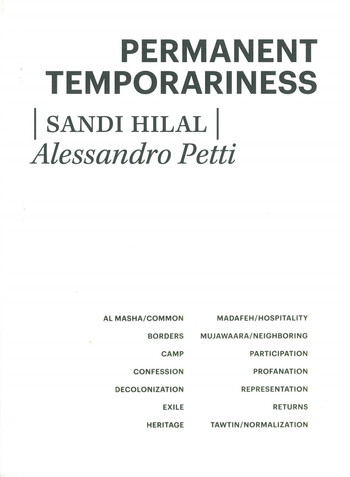 Permanent Temporariness