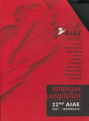 22nd Asia International Art Exhibition Catalogue Compilation (10 Catalogues)