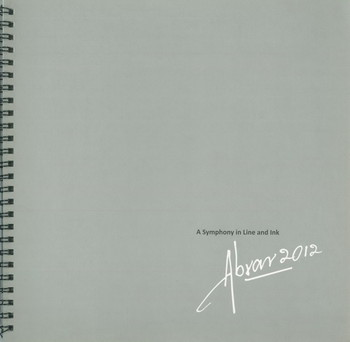 A Symphony in Line and Ink: Abrar 2012 - Cover