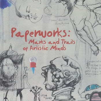 Paperworks: Marks and Trails of Artistic Minds - Cover