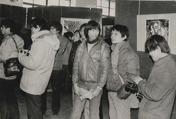Four Men Printmaking Exhibition