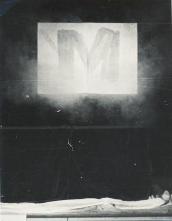 M Conceptual Art Performance Exhibition