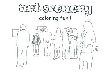 Art Scenery Coloring Fun_Cover