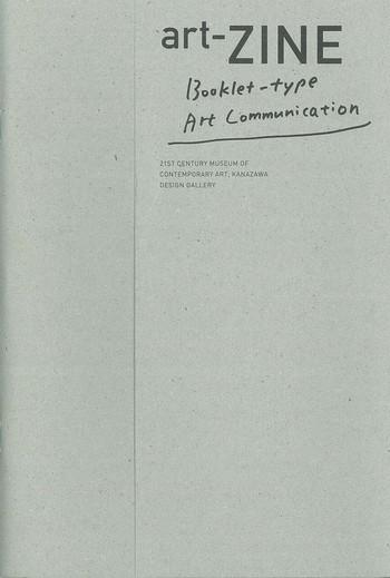 art-ZINE Booklet-type Art Communication_Cover