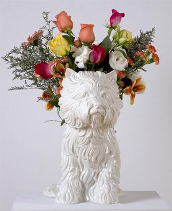 Jeff KOONS, <i>Puppy (Vase)</i>,1998. Generously donated by the artist andGagosian.