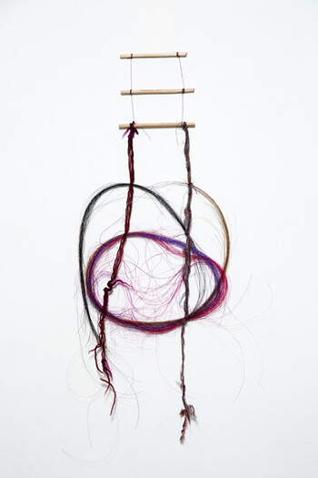 Cecilia VICUÑA, <i>Untitled (Precarios)</i>. Generously donated by the artist and Lehmann Maupin, New York, Hong Kong, Seoul and London.
