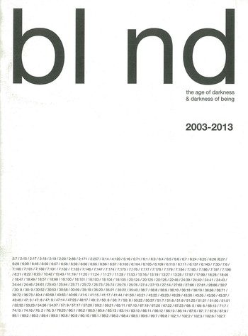Bl nd The Age of Darkness & Darkness of Being (2003 – 2014)_Cover