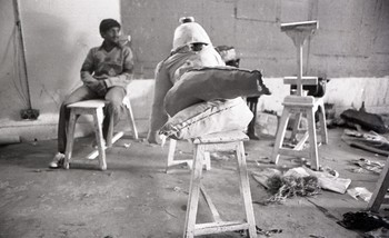 Preparation for Fine Arts Fair, 1979