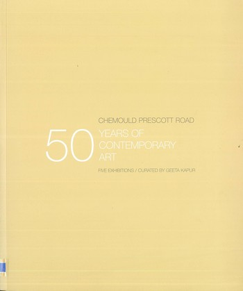 Chemould Prescott Road 50 Years of Contemporary Art_Cover