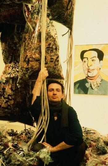 Andreas Schmid at China Avantgarde exhibition (Berlin)
