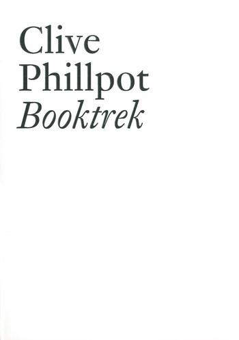 Clive Phillpot Booktrek_Cover