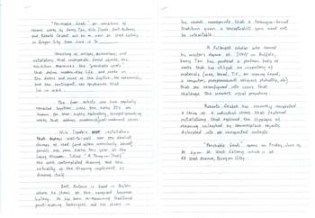 Perishable Goods — Press Release (Draft)