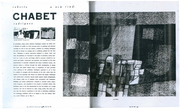 A New Find: Roberto Chabet Rodriguez