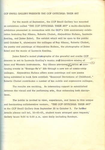 The CCP Officials: Their Art — Exhibition Catalogue (Draft)