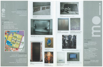 I Have Nothing to Paint and I'm Painting It — Exhibition Brochure