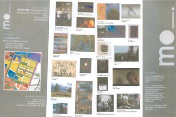 Shoot Me: Photographs Now — Exhibition Brochure