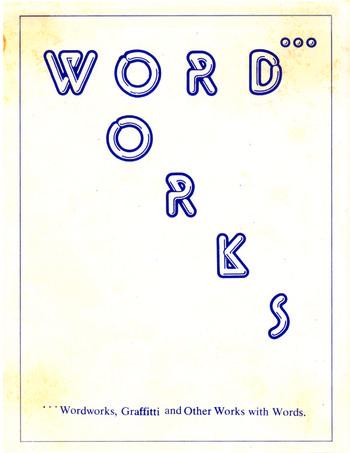 Wordworks — Exhibition Catalogue