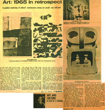 Art: 1965 in Retrospect